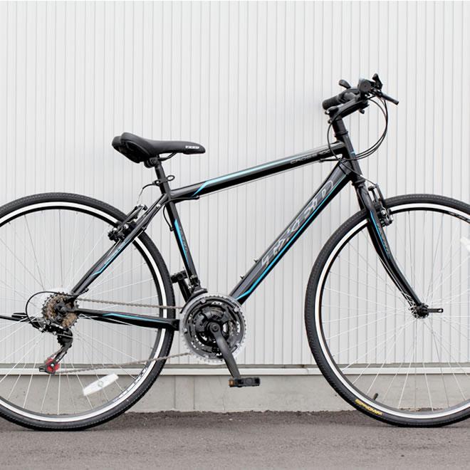送料無料 予約販売品 但し沖縄 離島は除く 期間限定特価品 クロスバイク 自転車 700C シマノ21段変速 シマノF Rディレーラー