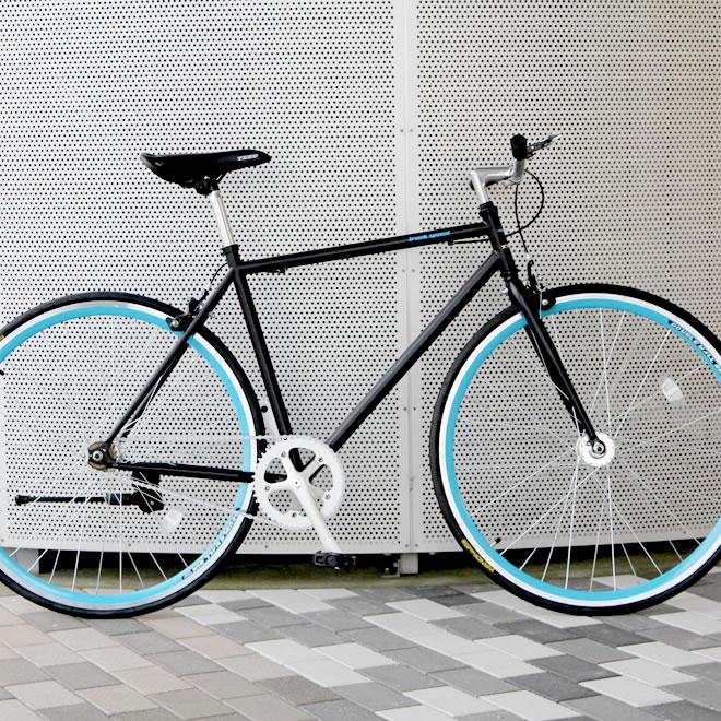 【NEW限定品】 クロスバイク 700C 自転車 シングルスピード 700C 自転車【送料無料 自転車】但し沖縄・離島は除く, カモウチョウ:f5b7a18a --- hortafacil.dominiotemporario.com