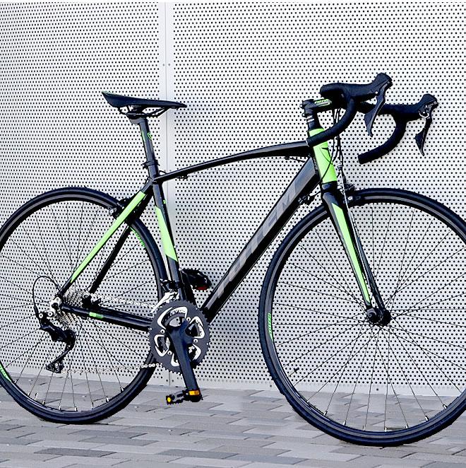 ロードバイク 自転車 アルミ 軽量 700C TOTEM 22段変速 シマノ105 STI デュアルコントロールレバー
