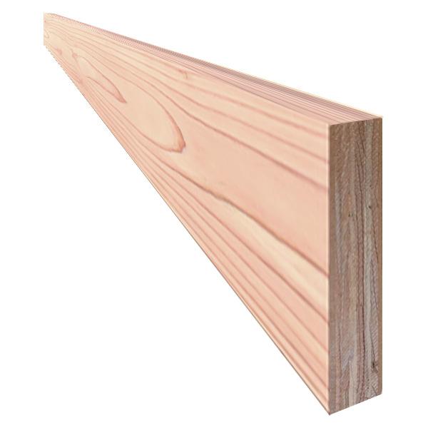 単板張り 付け框 玄関 幅木「杉」無塗装 | 無節グレード | 天然木 スギ 巾木 DIY 木材 板