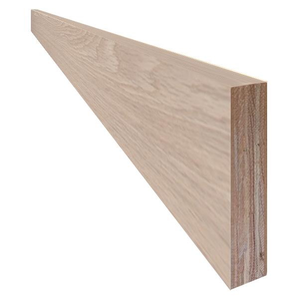 単板張り 付け框 玄関 幅木「オーク」無塗装 | プレミアムグレード | 天然木 ナラ 楢 巾木 DIY 木材 板