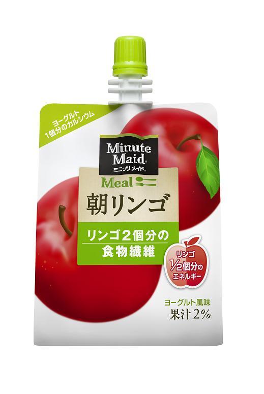 ミニッツメイド朝リンゴ180gパウチ2ケース48本入り