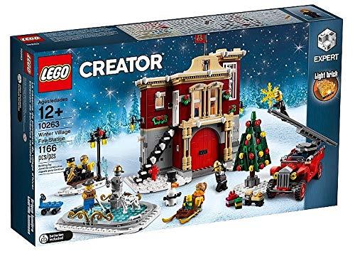 アウトレット品 レゴ LEGO ウィンタービレッジ ファイヤーステーション 消防署 10263 Import