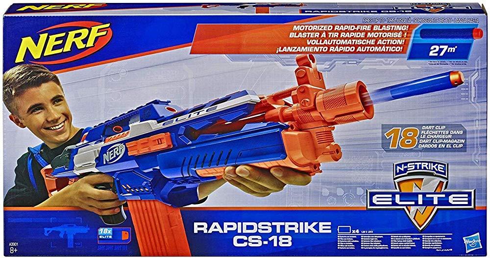 ナーフ N-ストライク エリート ラピッドストライク CS-18 2019年モデル Nerf N-Strike Elite Rapidstrike CS-18 輸入品