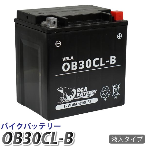 6ヶ月保証 水上ジェットスキー バッテリー 割引も実施中 送料無料 yb30cl-b YB30CL-B SEE-DOO 毎日激安特売で 営業中です FB30L-B 互換:YB30L-B 液注入済み 4ストローク 充電