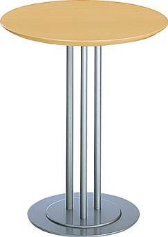 コクヨ アテーザシリーズ リフレッシュテーブル メラミン天板 直径600mm【LT-202YN】