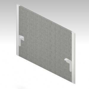 XFタイプI デスクアクセサリー デスクフロントパネル/H400(天板上高さ) 光触媒クロス (628139)【XI-107PM-Q】