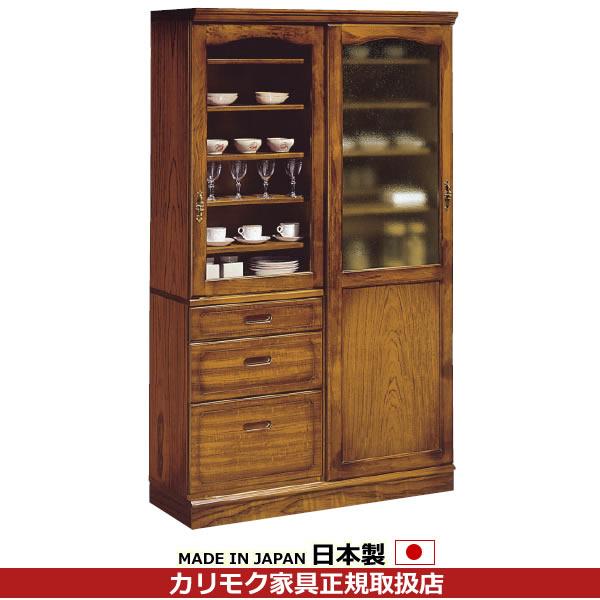 カリモク 食器棚・ダイニングボード/コロニアル 食器棚 幅1152mm【EC4370NK】