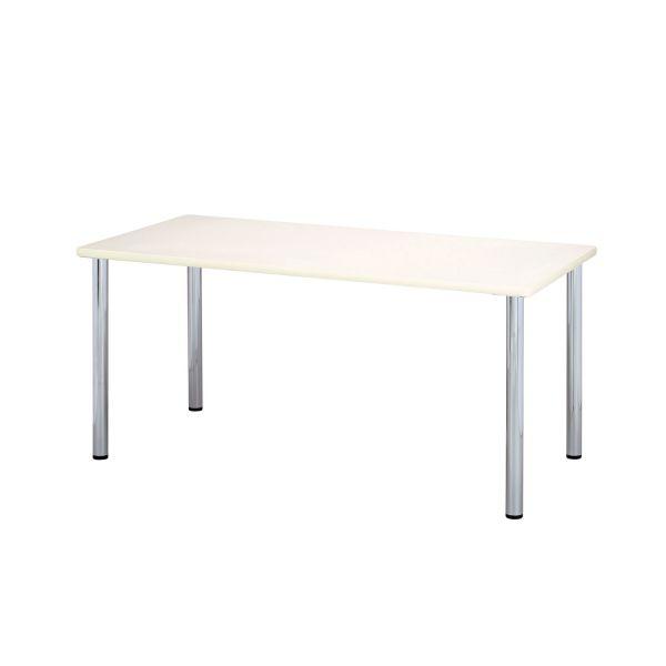 ミーティングテーブル 幅1500×奥行750mm 【国産】【YMT-1575-IV】