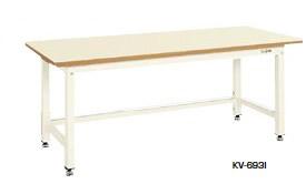 サカエ KV 中量作業台 均等耐荷重:1200kg【KV-693FI】