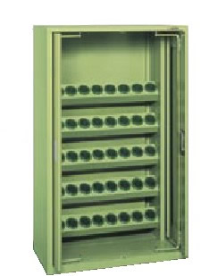 サカエ ツーリングキャビネット 均等耐荷重:ホルダーフレーム1段当り60kg【TLK-30C】