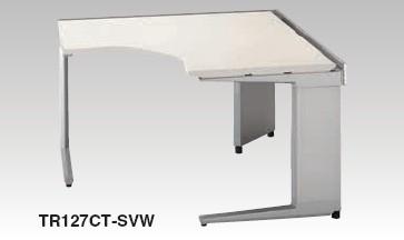 ワークステーション TR型 コーナーデスク 90度用 幅1200×奥行き1200×高さ700mm【TR127CT】