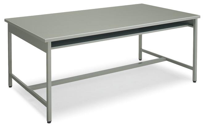 コクヨ 事務用デスクSR型 会議用テーブル グレー色 幅1800×奥行450×高さ700mm【KT-SR50N】