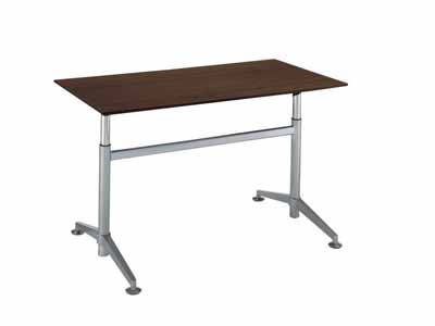 コクヨ ビューライズ 固定脚タイプ テーブル 配線キャップ4個付き 幅1500×奥行き750×高さ700~1050mm【MT-508W-E】