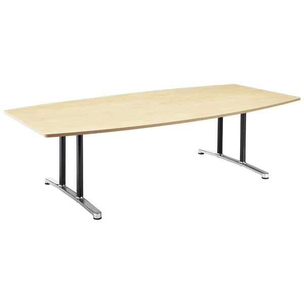 ミーティングテーブル・会議テーブル/ WALテーブル 【ボード形・幅2400×奥行き1200mm】【WAL-2412B】