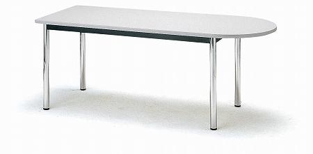 会議テーブル TCシリーズ TC 半楕円型 幅1800×奥行き900×高さ700mm【TC-1890U】
