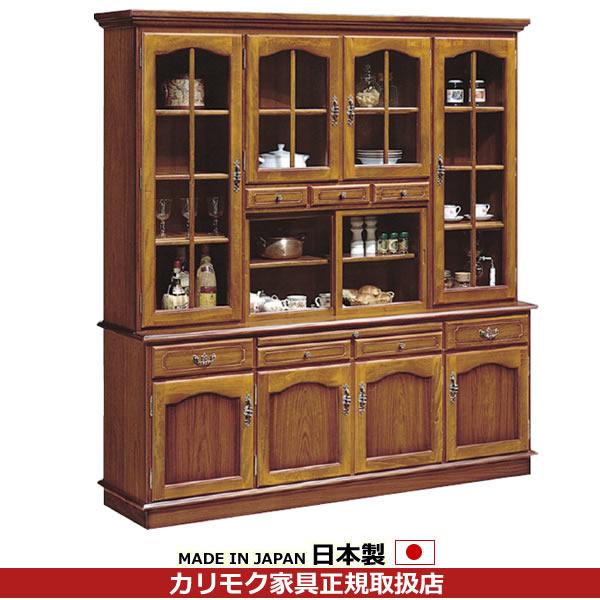 カリモク 食器棚・ダイニングボード/コロニアル 食器棚 幅1820mm【EC6000NK】