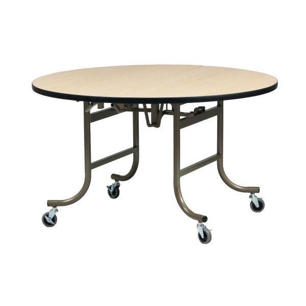 フライト式宴会テーブル 円卓 直径1200mm 【国産】【ETZ-1200】