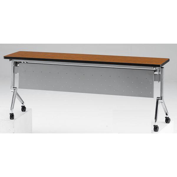 【受注生産】フォールディングテーブル パネル付き 幅1500mm×奥行600mm×高さ720mm【NAN-1560P】