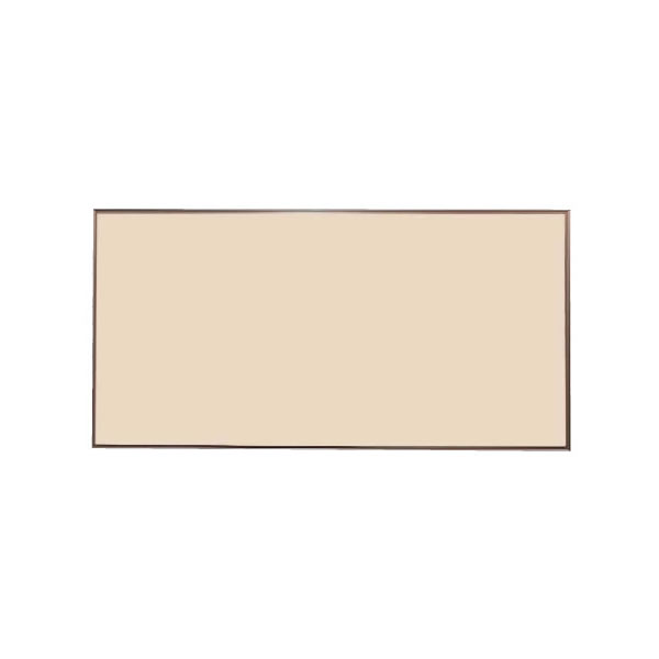 スリーウェイ掲示板 カラーアルミ枠 表面色ベージュ 1210×910mm【KP34C】