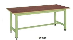 サカエ KT 中量作業台 均等耐荷重:800kg【KT-693F】