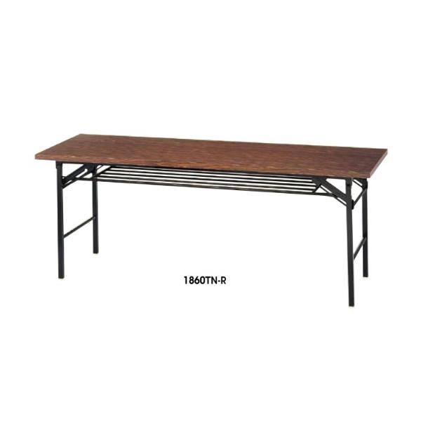 折りたたみテーブル 幅1800×奥行き450mm【1845T】