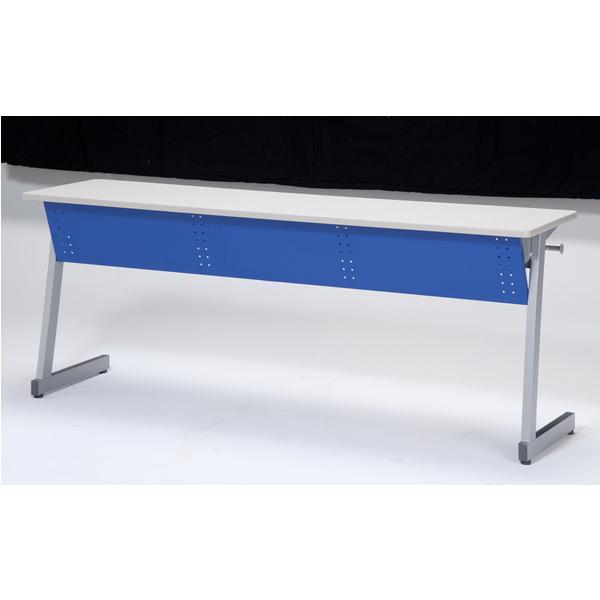 研修・講義用テーブル 幅1200mm×奥行400mm×高さ700mm【SKA-1240P】