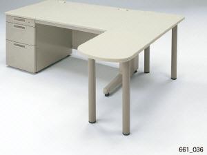 LAデスク サイドテーブル (エルエーデスク) 【LA-7DT-ST】