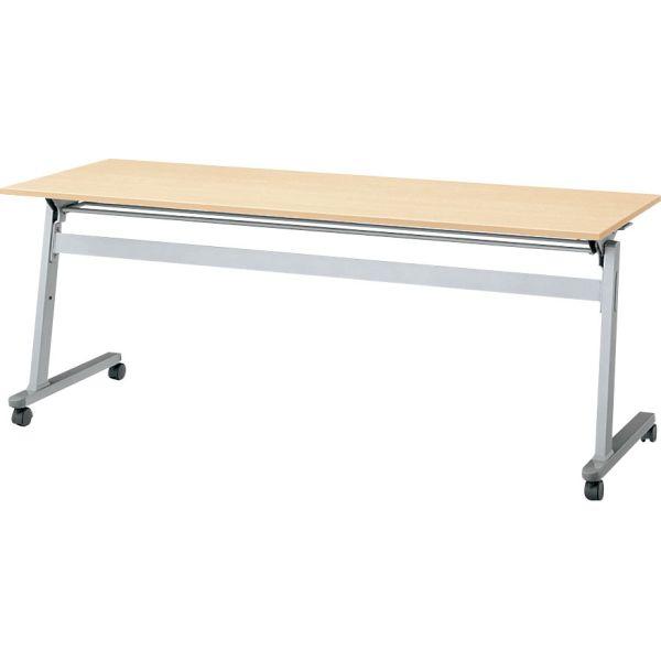 サイドスタックテーブル SN-1860 幅1800×奥行き600×高さ700mm【6-162-102】