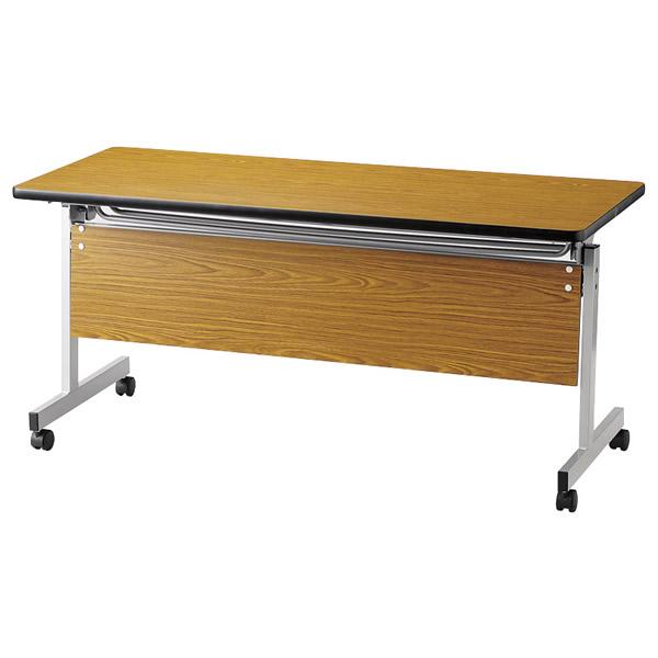 スタックテーブル/ KWSPテーブル 塗装脚パネル付タイプ 幅1500×奥行き450mm【KWSP-1545】