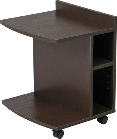 【2台セット】サイドテーブル マルチサイドテーブル ロータイプ(78196) SI-4554BR【F-78196】