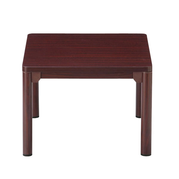 応接テーブル コーナーテーブル 丸脚 幅600×奥行600mm【CTR-6060-M1】