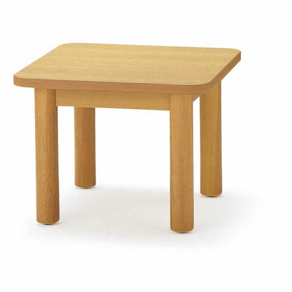 応接 センターテーブル 幅600×奥行き600×高さ450mm【FKT-66】