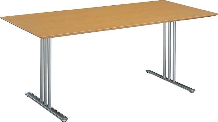 コクヨ アテーザシリーズ リフレッシュテーブル ツキ板天板 幅1800×奥行き800【LT-212YKN】
