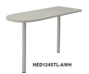 事務用デスク NED型 サイドミーティング用テーブル 右用【NED124STR】