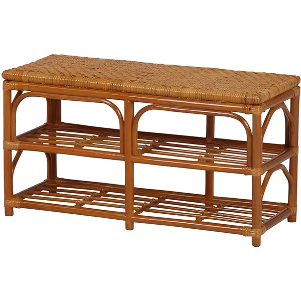 Y882 150センチ巾 籐椅子 ラタン縁台ベンチ