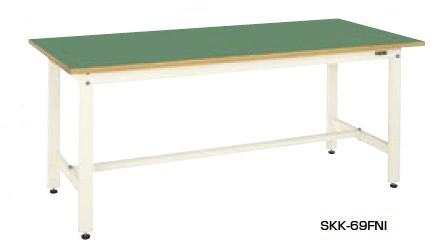 サカエ SKK 軽量作業台 均等耐荷重:400kg【SKK-70FNI】