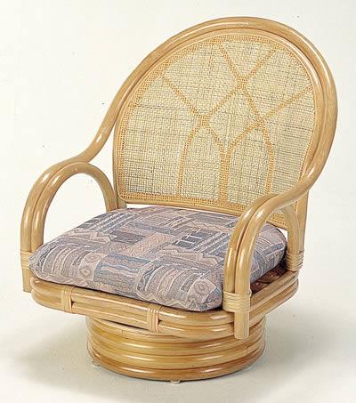 回転座椅子 ミドルタイプ【I-S-362】