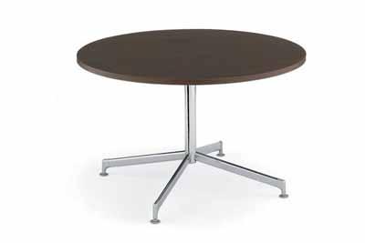 コクヨ イートイン シリーズ テーブル リフレッシュテーブル 十字脚 高さ700mmタイプ 天板寸法 直径1050mm メラミン化粧板 塗装脚【LT-418】