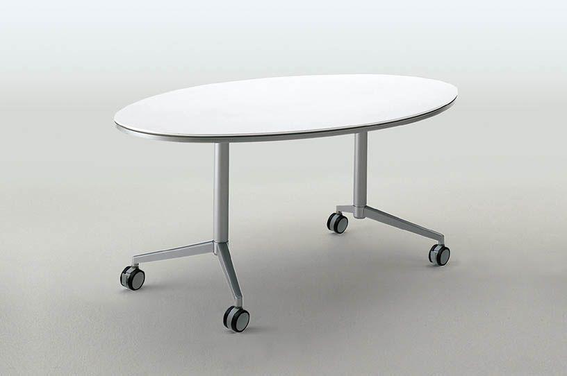 コクヨ アットラボ ミーティングテーブル〈ハイタイプ〉 楕円形 幅1680mm【MT-205NN】