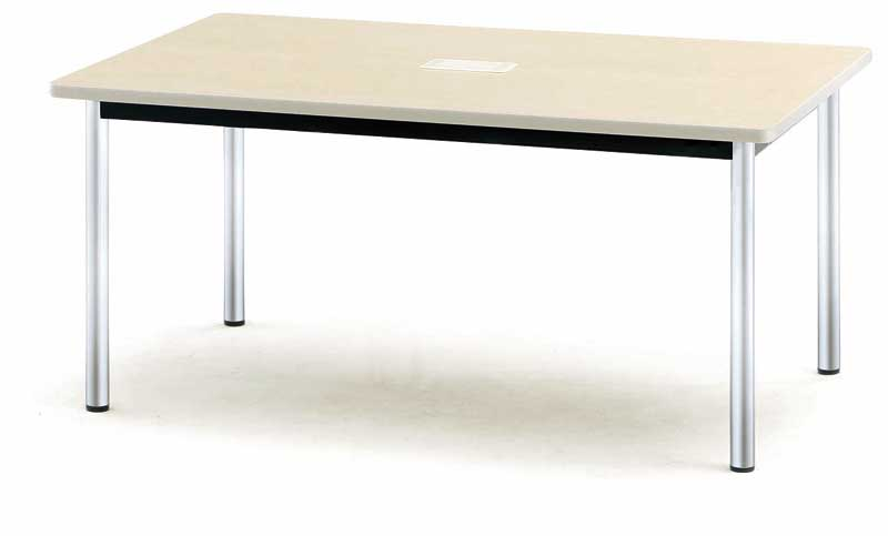 会議テーブル PTCシリーズ 角型 幅1500×奥行き900×高さ700mm【PTC-1590】
