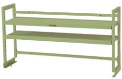 ワークテーブル架台 棚板2段タイプ 幅1511×奥行き300×高さ600mm【YAMA-WK2-1500 棚板2段タイプ】, 宇和島市:ea0bf31b --- data.gd.no