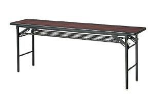 会議 ミーティング テーブル YT-Rシリーズ ソフトエッジ張り  幕板なし【YT-R615B】