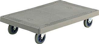 コクヨ 樹脂製手押車(フラット式) 積載量/300kg 【TK-P02NN】