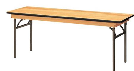 宴会用テーブル 幅1800×奥行き450mm【KB1845S-S】