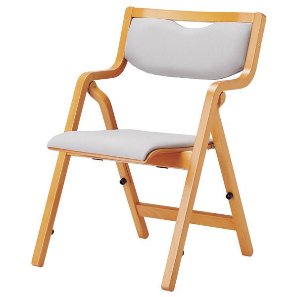 折り畳み椅子 スタッキングタイプ(角背)【透湿防水性防汚性布張り】【MW-300-FW18】