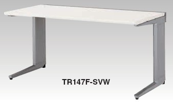 ワークステーション TR型 平デスク 幅1400mm【TR147F】