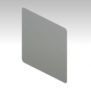 TYPE-L DESK ACCESSORY デスクトップパネル(アクリル) (641696)【XL-88DTP-S】
