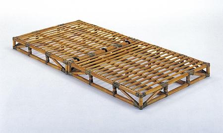 Bed 籐すのこベッド シングルサイズ【I-Y-906】