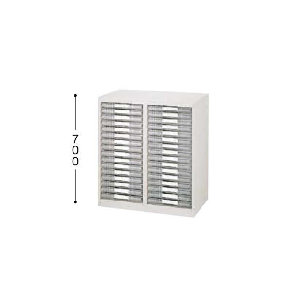パンフレットケース 2列浅型16段 A4縦用【LCA216D-A4】